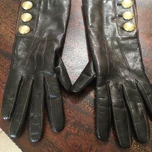 Coach Leather Gloves - New